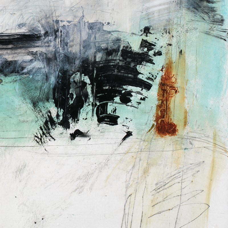 modern abstract art giclee print by keck