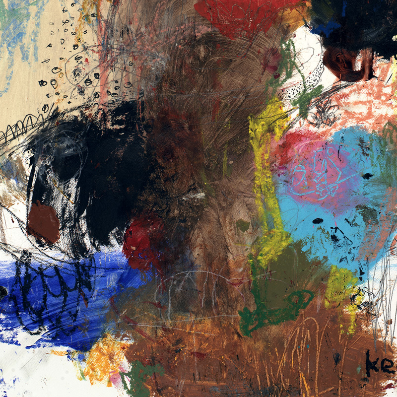 contemporary abstract art print by michel keck