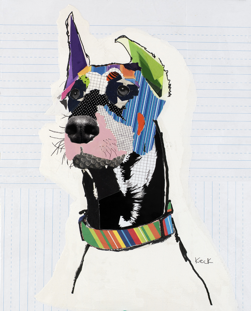 dog art, doberman, doberman art, doberman pop art