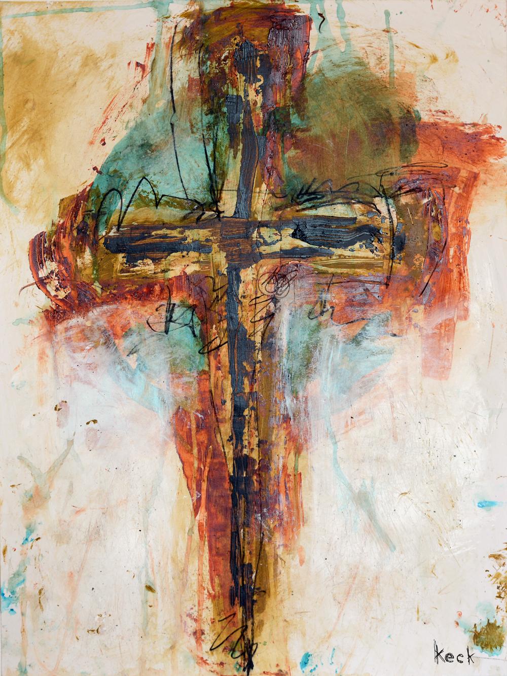cross art print, religious cross art, abstract cross art painting, cross art giclee print, painting of a cross, art print with cross, cross art, crucifix art